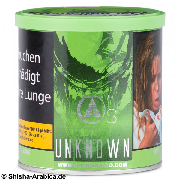 O's Tobacco Red - Unknown 200g