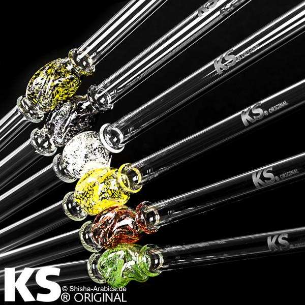 """KS Glas Stickliner """"Minea"""" White 45cm"""