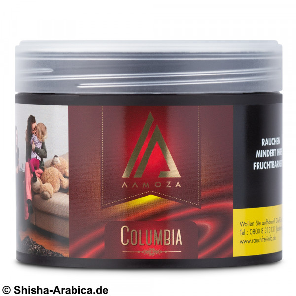 Aamoza Tobacco - Columbia 200g Tabak