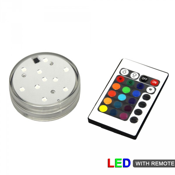 LED Light Base + Remote