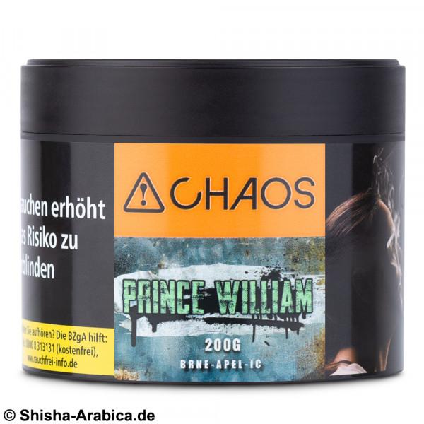 CHAOS Tobacco - Prince William 200g Tabak