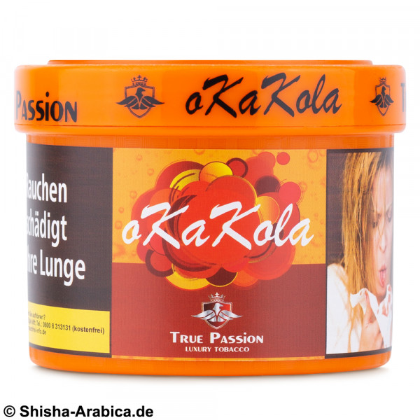 True Passion oKaKola 200g Tabak