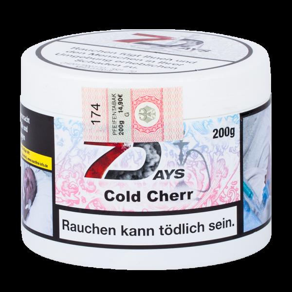 7 Days Tabak Cold Cherry 200g