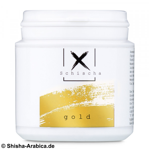 XSchischa Farbpulver Sparkle Gold 50g