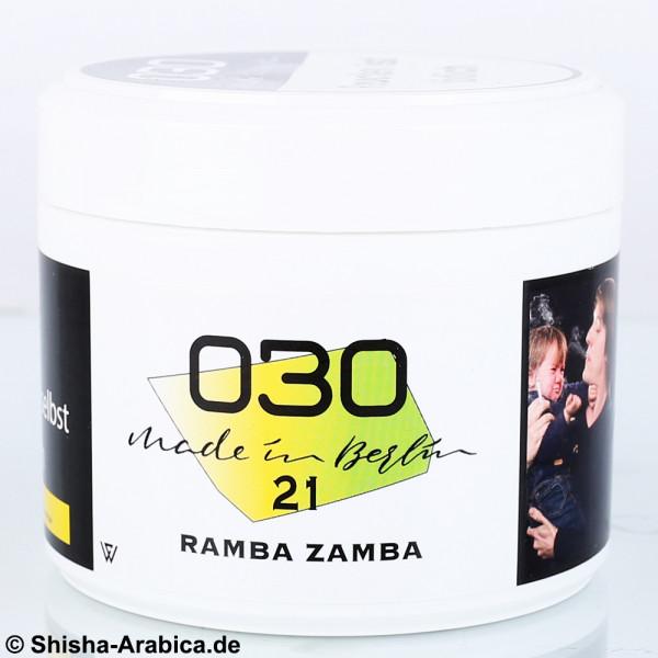 030 Tobacco - Ramba Zamba #21 200g Tabak