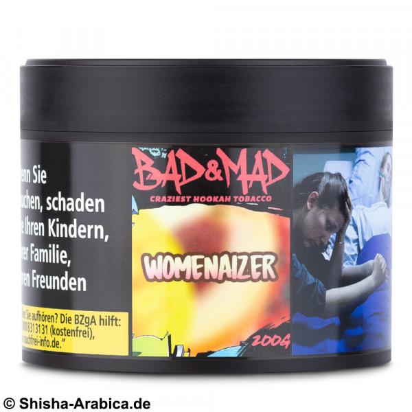 Bad & Mad Tobacco - Womenaizer 200g Tabak