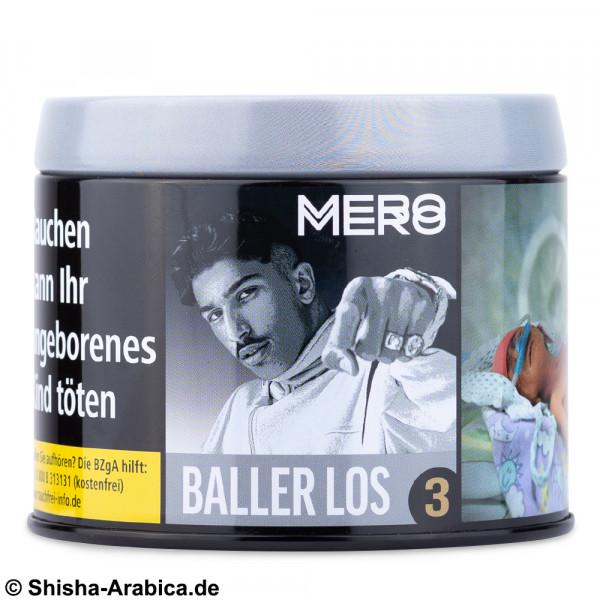 Mero No.3 Baller Los 200g Tabak