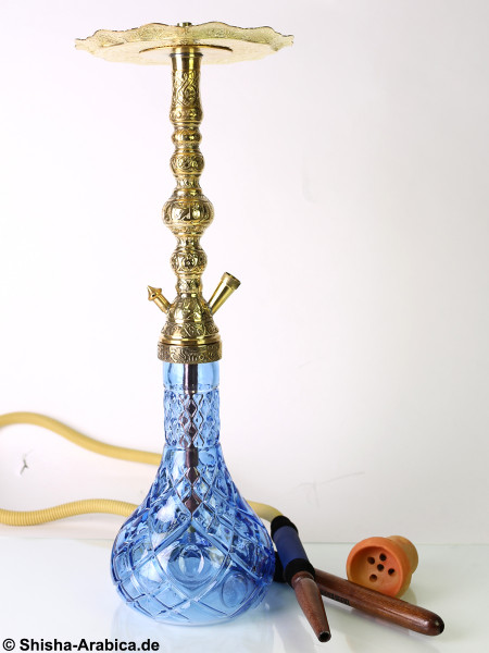 Black Smoke Tradi - Aslan - Blue (Click) Shisha