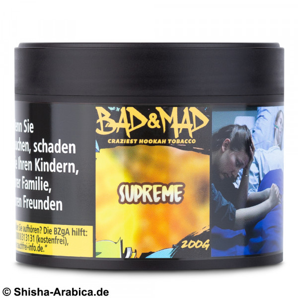 Bad & Mad Tobacco - Supreme 200g Tabak