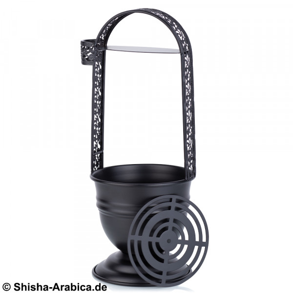 Kohlenkorb + Gitter Black