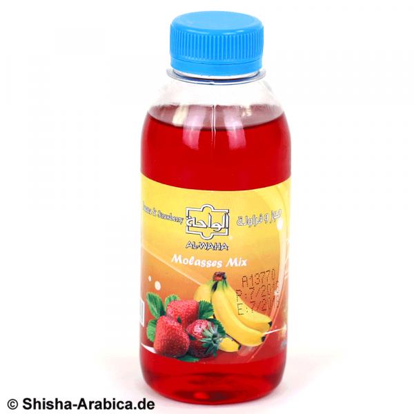 Al Waha Mix Banana Strawberry 250ml