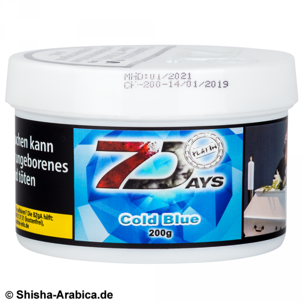 7 Days Platin Cold Blue 200g