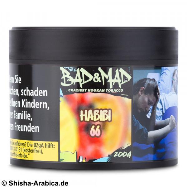 Bad & Mad Tobacco - Habibi 66 200g Tabak