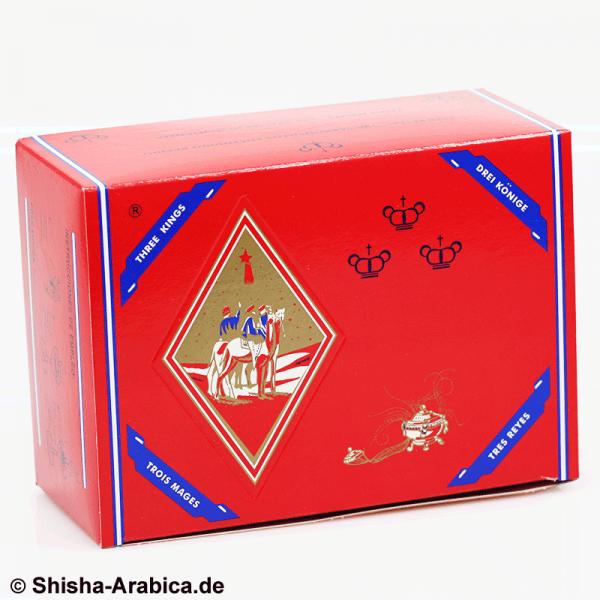 Three King Shisha Kohle 40mm 100er Box