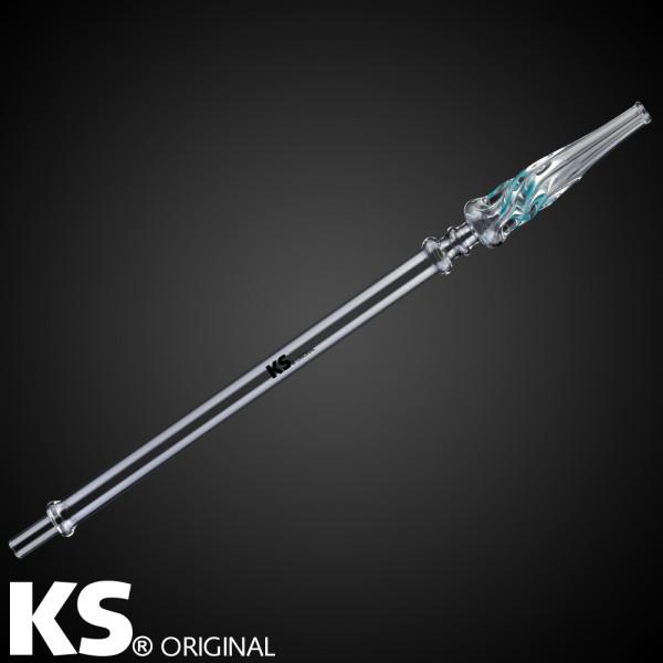 KS Glasmundstück Stardust Turquoise