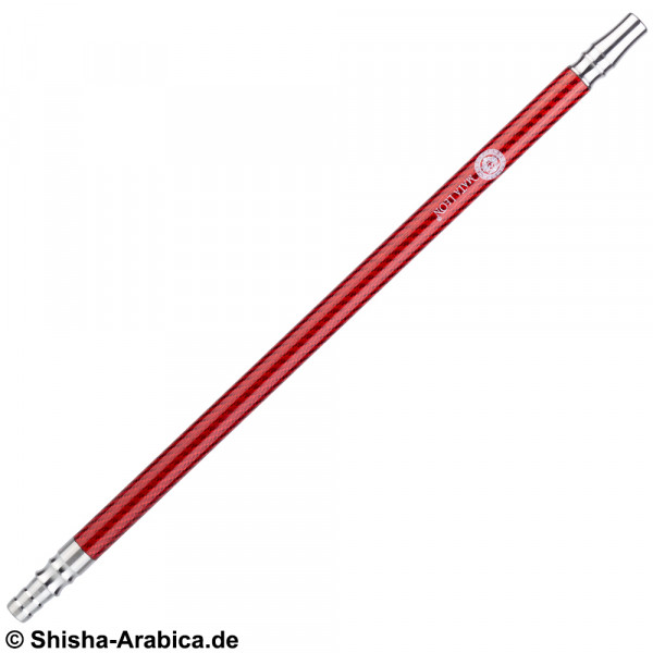 Mata Leon Carbon Mundstück Edelstahl V2A Red