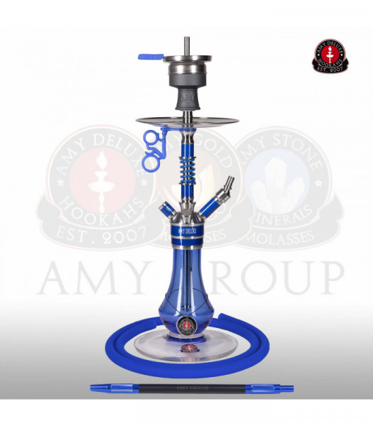 Amy Deluxe SS24.02 Carbonica Gear S Blue Shisha