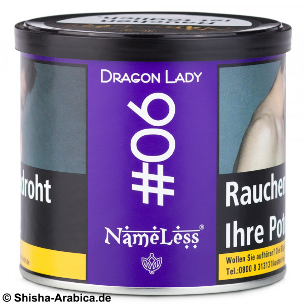 NameLess Tobacco #06 Dragon Lady 200g Tabak