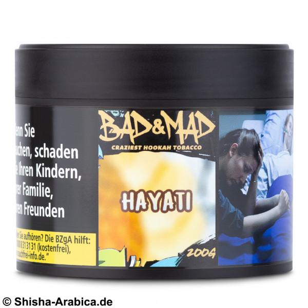 Bad & Mad Tobacco - Hayati 200g Tabak