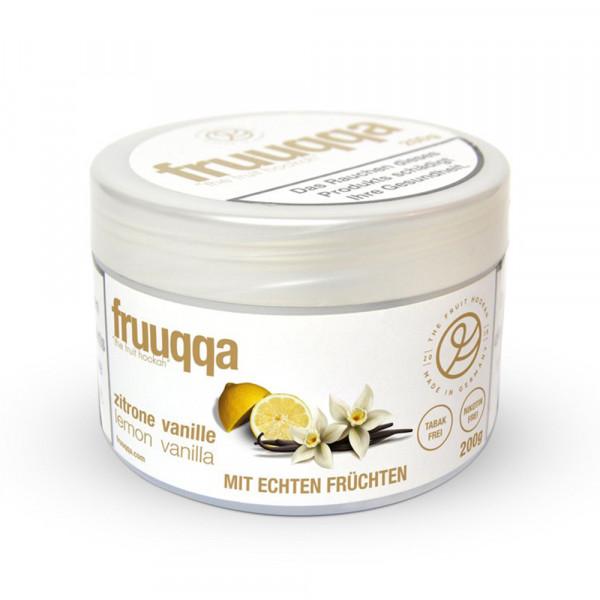 Fruuqqa - Zitrone Vanille 200g
