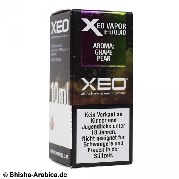 XEO E-Liquid 0mg Grape Pear