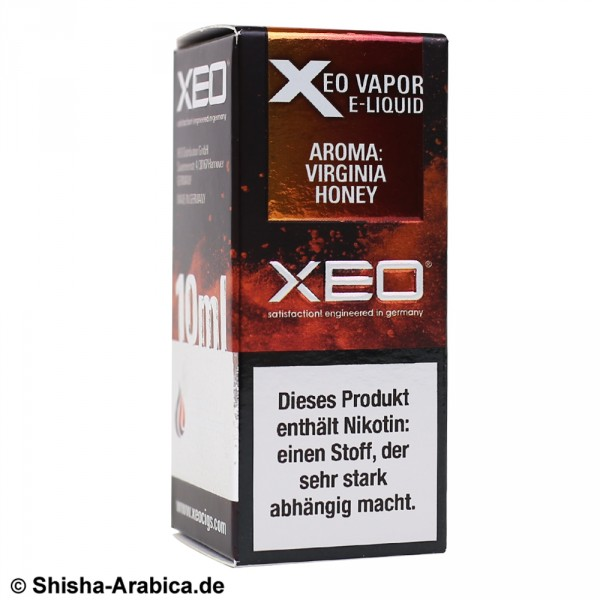 XEO E-Liquid 3mg Virginia Honey