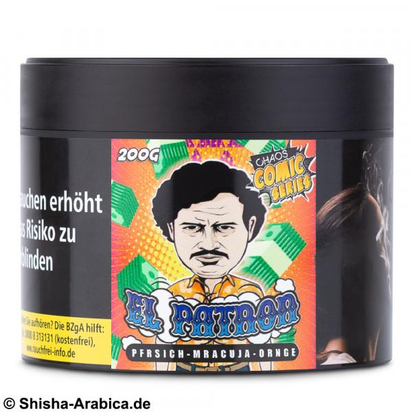 CHAOS Tobacco - El Patron 200g Tabak