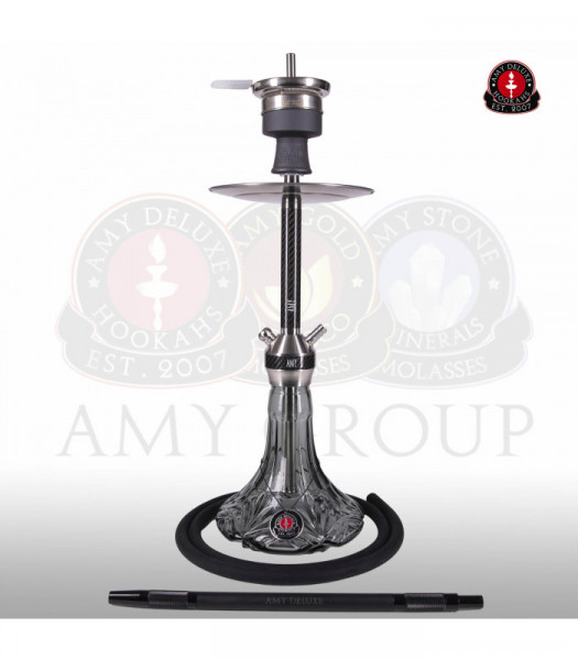 Amy Deluxe SS31.02 Carbonica Lucid S Black Shisha