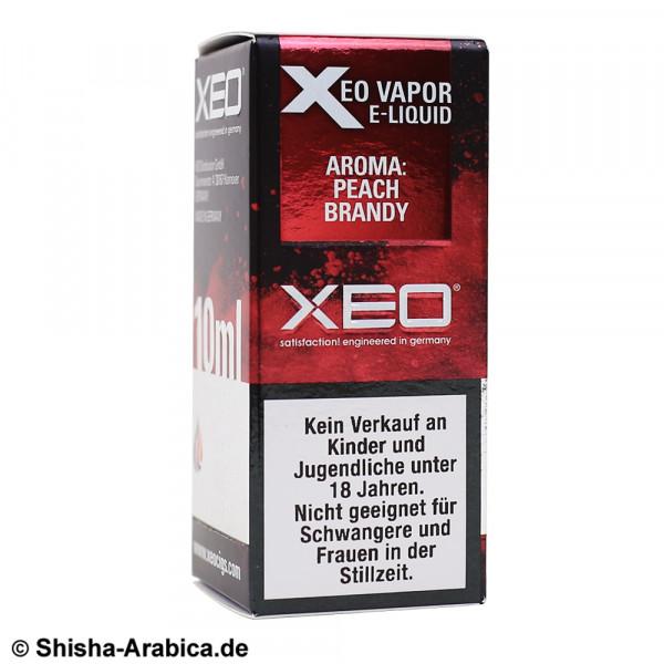 XEO E-Liquid 3mg Peach Brandy