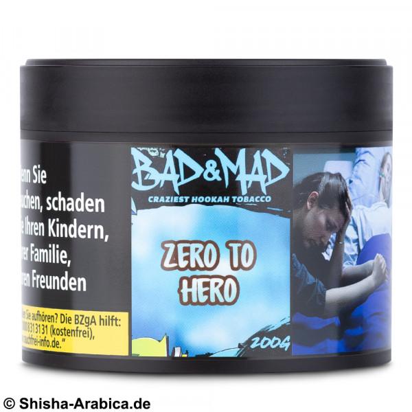 Bad & Mad Tobacco - Zero To Hero 200g Tabak