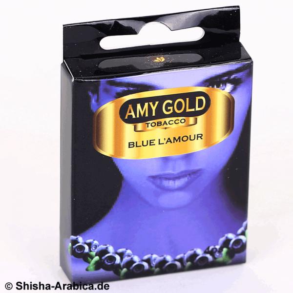 Amy Gold My Smoke Kartusche Blue L'Amour 4er Pack