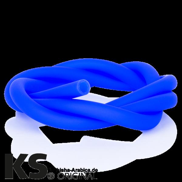 KS Silikonschlauch Softtouch Blau