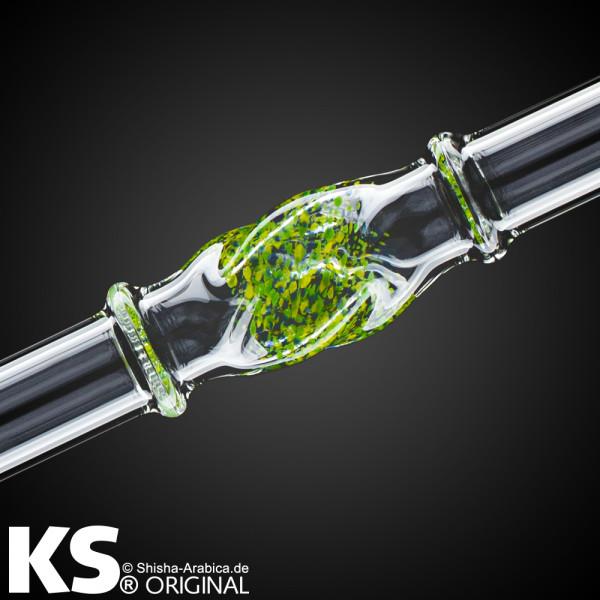 "KS Glas Liner ""Minea"" Green-Yellow-Blue 35cm"