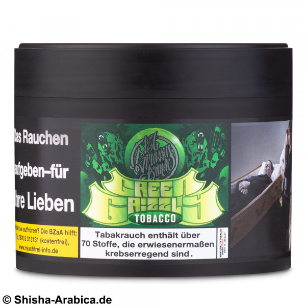 187 Tobacco Green Grizzly 200g TPD2 Tabak