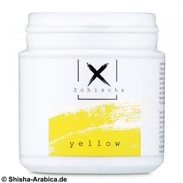 XSchischa Farbpulver Sparkle Yellow 50g