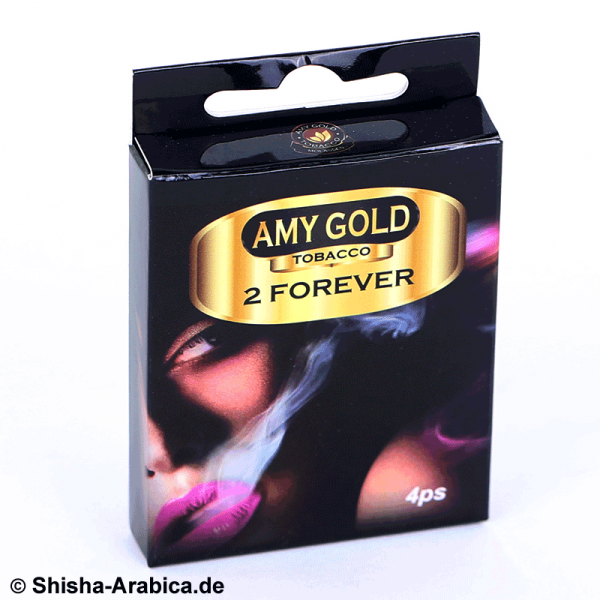 Amy Gold My Smoke Kartusche 2Forever 4er Pack