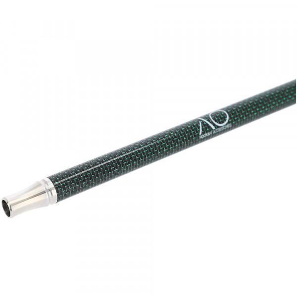 AO Carbon Mundstück Edelstahl V2A Black-Green