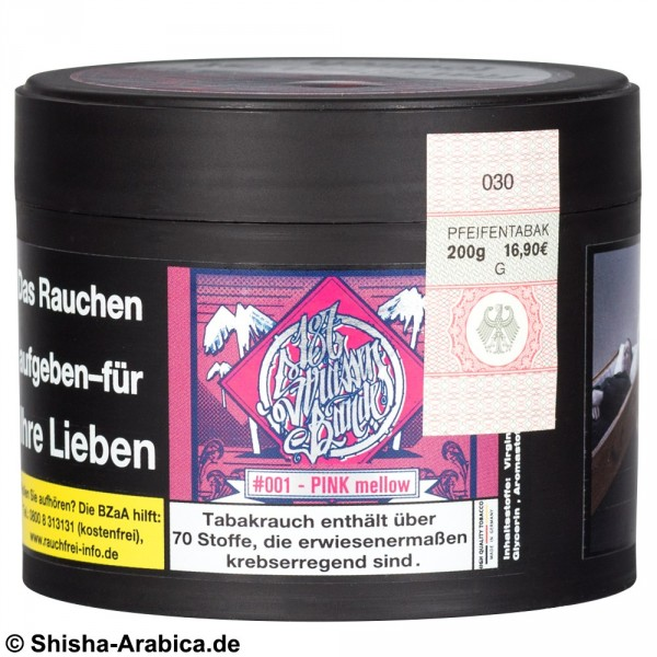 187 Tobacco - #001 Pink Mellow 200g