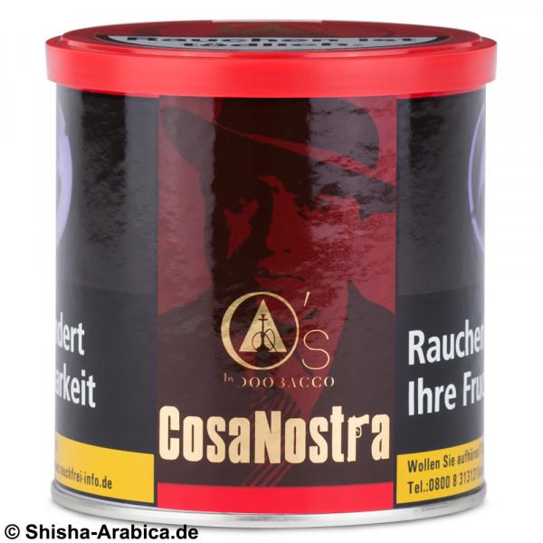 O's Tobacco Red - Cosa Nostra 200g Tabak