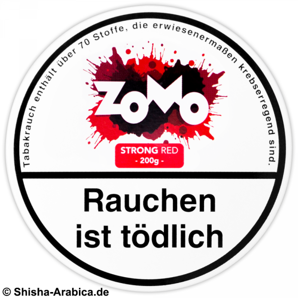 ZOMO Strong Red 200g