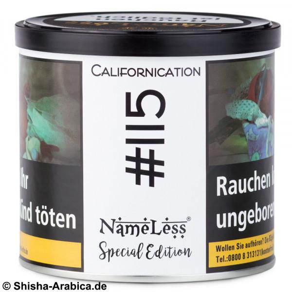 NameLess Tobacco #115 Californication 200g Tabak