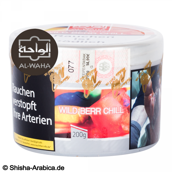 Al Waha Wildberry Chill 200g