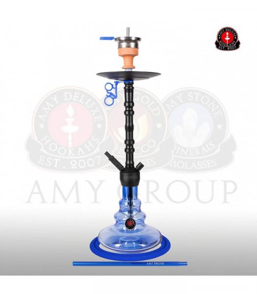 Amy 070.01 Alu Zulu Blue (Matt schwarze Säule)