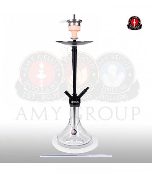 Amy Deluxe 066.01 Alu Deluxe Clear (Matt schwarze Säule)