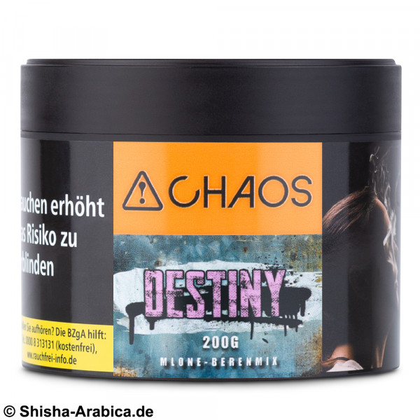 CHAOS Tobacco - Destiny 200g Tabak