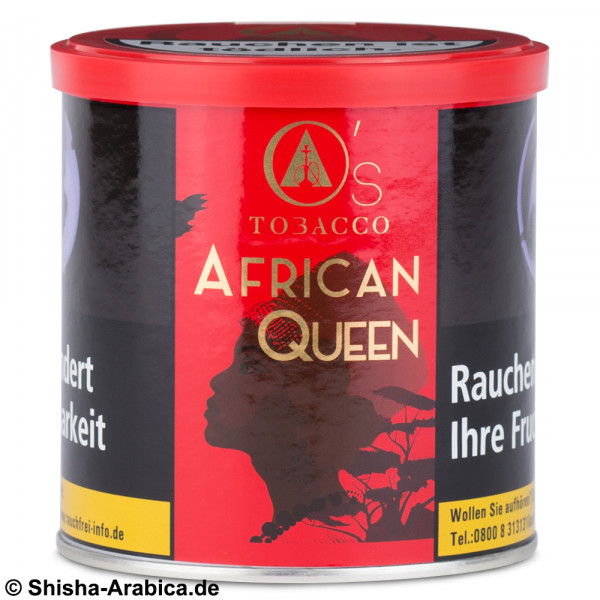 O's Tobacco Red - African Queen 200g Tabak