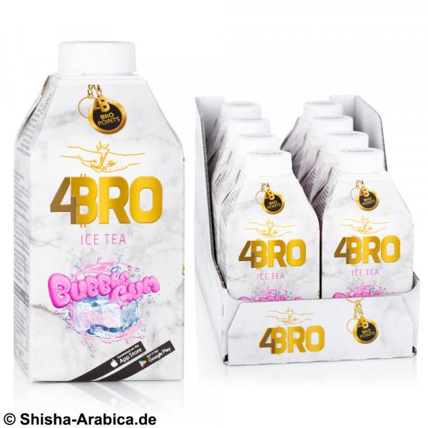 4BRO Ice Tea - Bubble Gum - 8 x 500ml