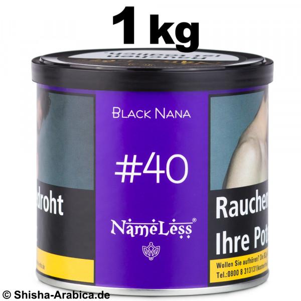 NameLess Tobacco #40 Black Nana 1kg Tabak
