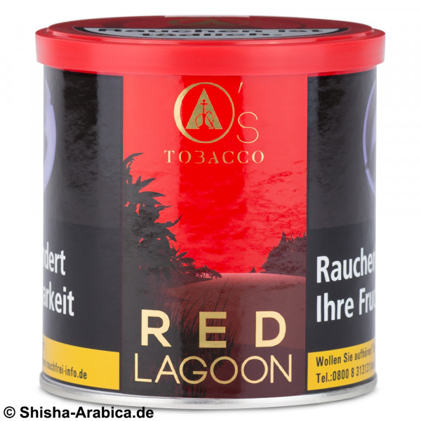 O's Tobacco Red - Red Lagoon 200g