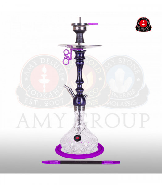 Amy Deluxe 101.01 Bohemian Cut Purple Shisha